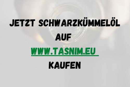 Schwarzkümmelöl www.tasnim.eu